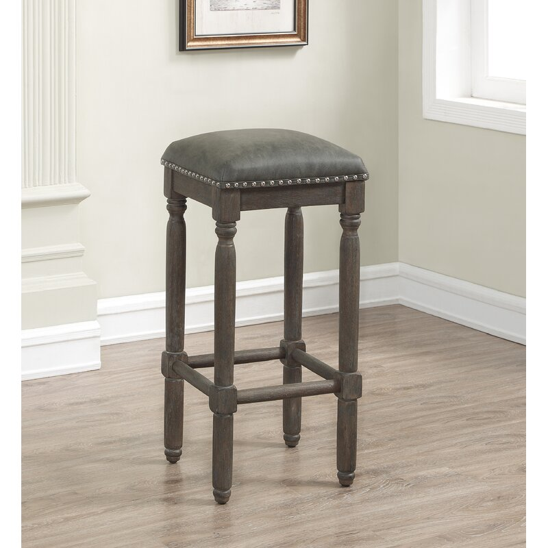 One Allium Way Jeanlouis Backless 26 Counter Stool Reviews Wayfair
