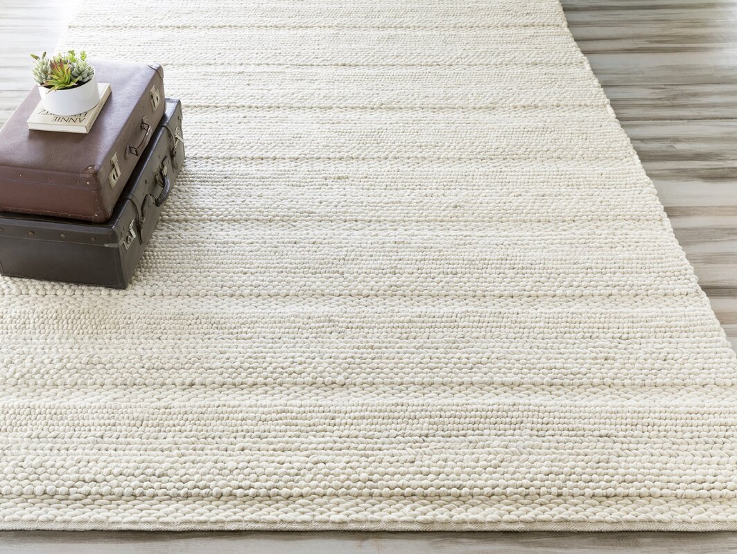 Jocelyn Parchment Hand Woven Area Rug