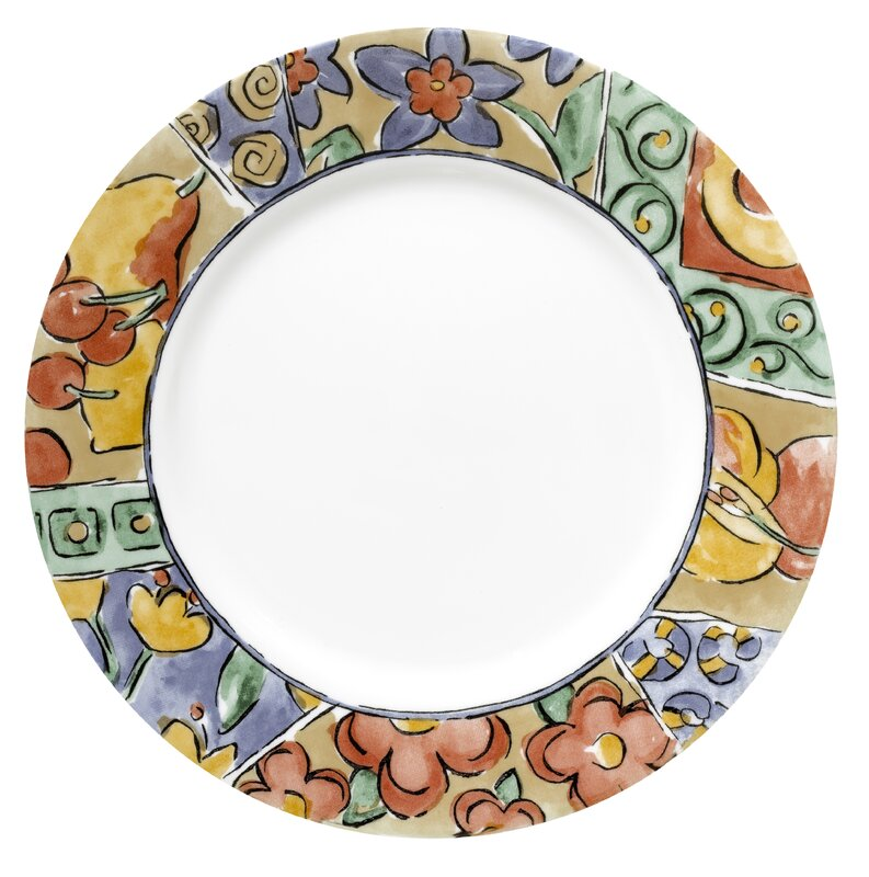 Impressions 10.75  Watercolors Dinner Plate (Set of 6). by Corelle  sc 1 st  Wayfair & Corelle Plates u0026 Saucers Youu0027ll Love
