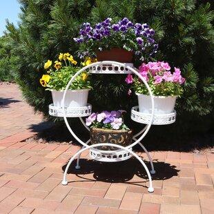 Thayne 4 Tier Ferris Wheel Indoor Outdoor Plant Stand