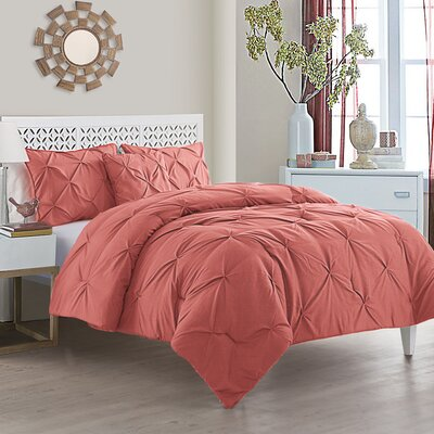pink bedding sets you 39 ll love wayfair. Black Bedroom Furniture Sets. Home Design Ideas