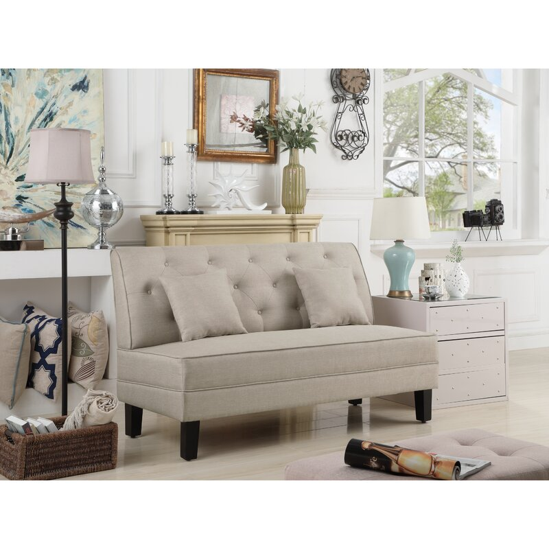 Hurst Tufted Loveseat