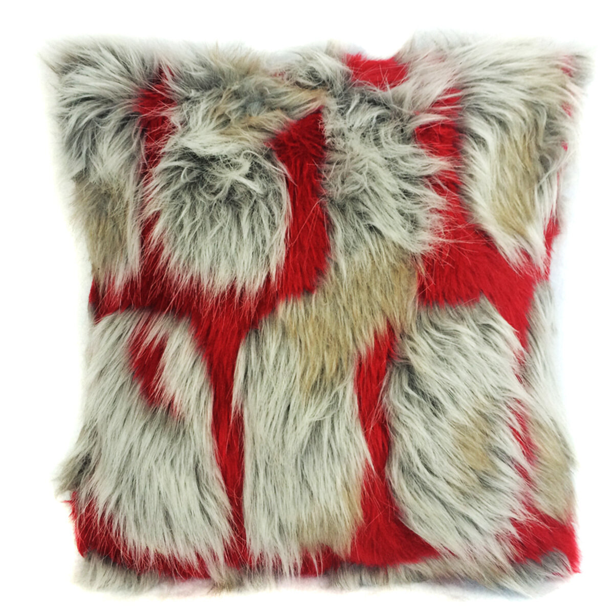 an our to affordable pin space your stripes colored create and a throw of cream soft irresistibly chic neutral faux at look luxury pillow fur price lends backing