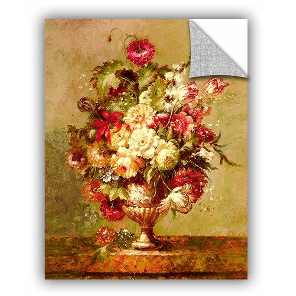 ArtWall Cho Renaissance Flowers II Wall Mural | Wayfair