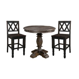 Cummings Round 3 Piece Pub Table Set