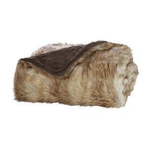 Tundra Faux Fur Throw