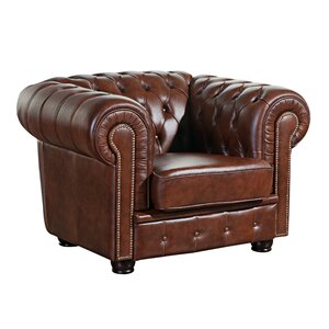Chesterfield-Sessel Norwin aus Leder von Max Win..