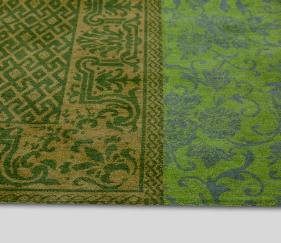 Louis De Poortere Vintage Green Area Rug & Reviews