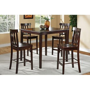 Cathrine 5 Piece Counter Height Dining Set