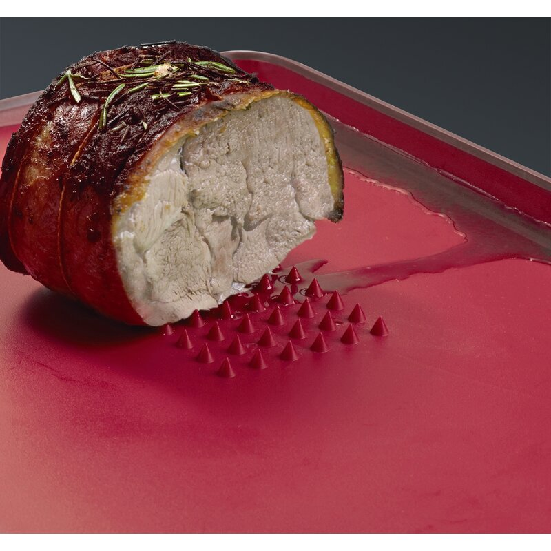 7ebb7e4c4962 Joseph Joseph Large Cut   Carve Chopping Board in Red   Reviews ...