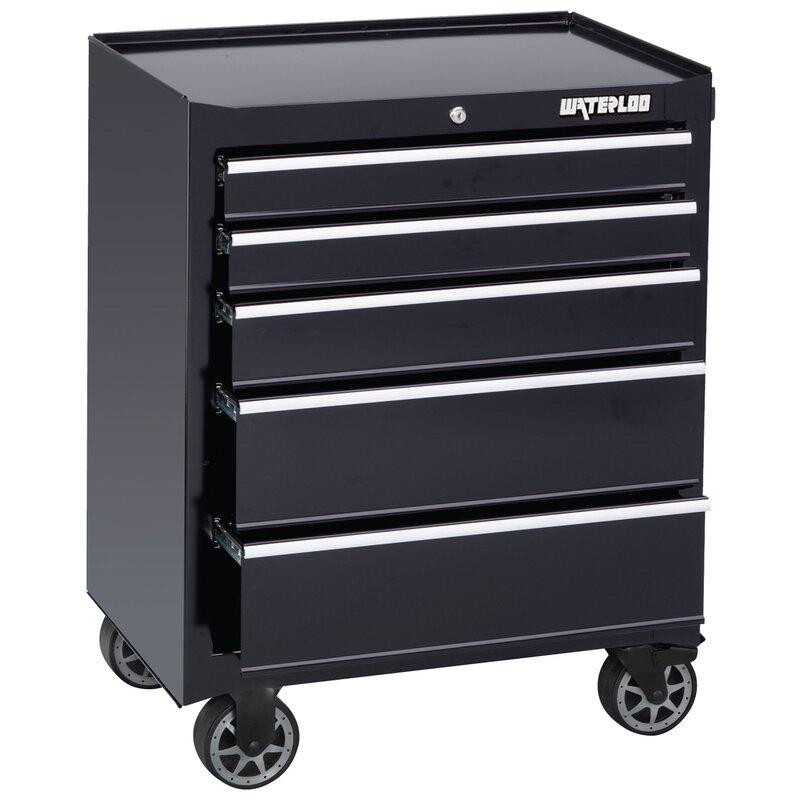 waterloo furniture waterloo industries waterloo series 26 quot w 5 drawer tool