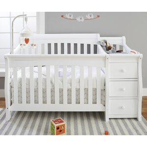 Tuscany 4-in-1 Convertible Crib and Changer