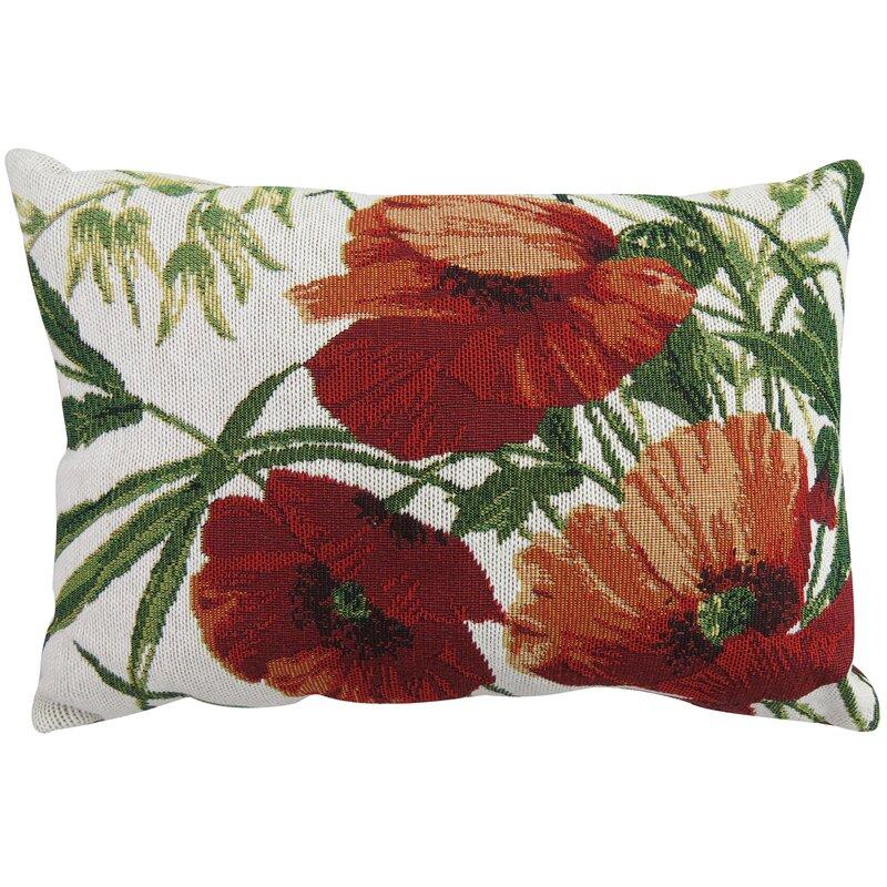Park B Smith Ltd Poppies Tapestry Decorative Lumbar Pillow Reviews Beauteous Poppy Decorative Pillows