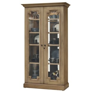 Bretz Lighted Curio Cabinet