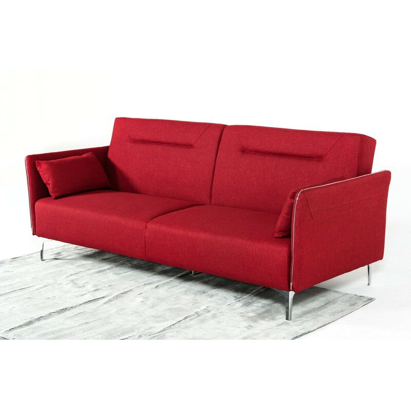 Wade Logan Alsatia Modern Sleeper Sofa & Reviews | Wayfair