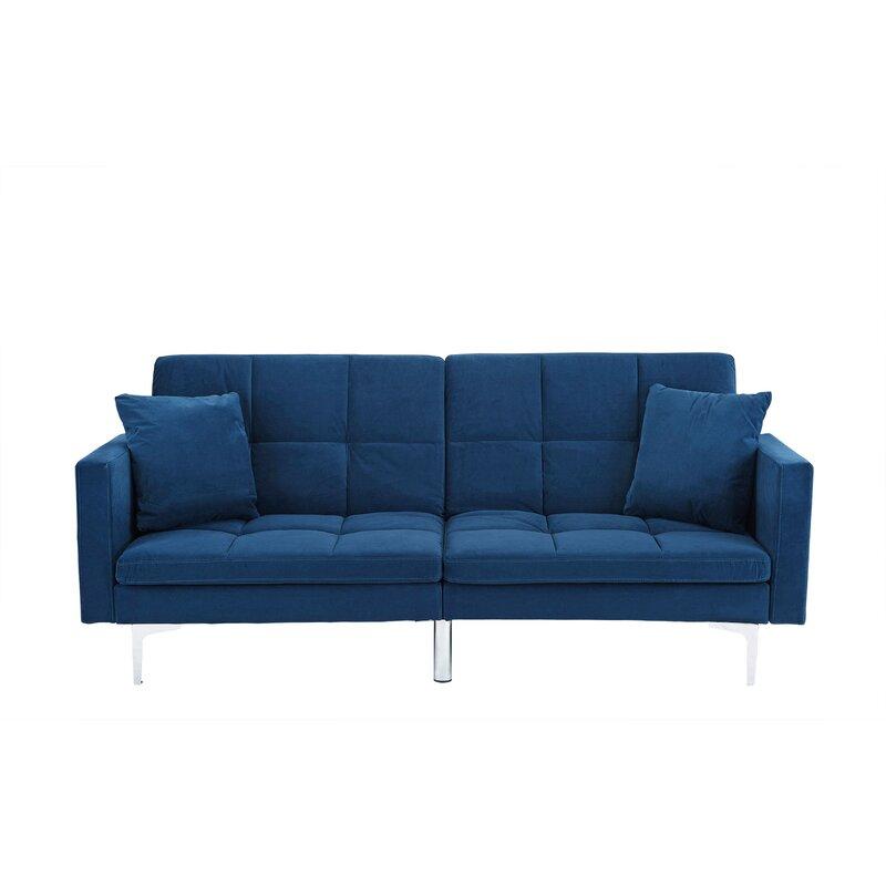 Wrought Studio Rojo Sleeper Convertible Sofa & Reviews | Wayfair