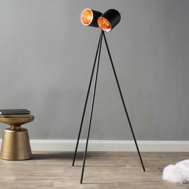 Adesso simon 58 tripod floor lamp reviews wayfair simon 58 tripod floor lamp aloadofball Gallery