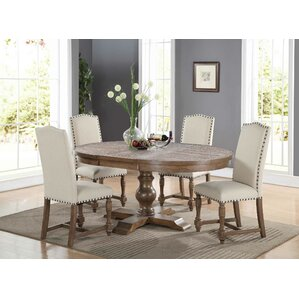 Fortunat Extendable Dining Table. Espresso Gray