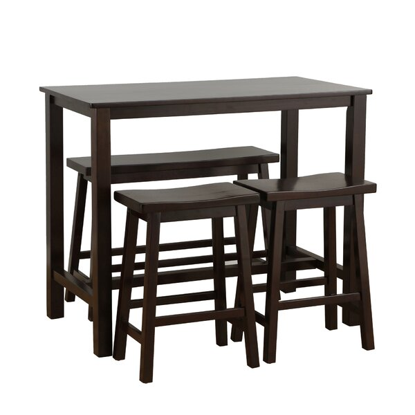 . Wood Pub Tables   Bistro Sets You ll Love   Wayfair