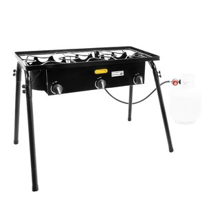 Triple Burner Outdoor Stand Stove Cooker