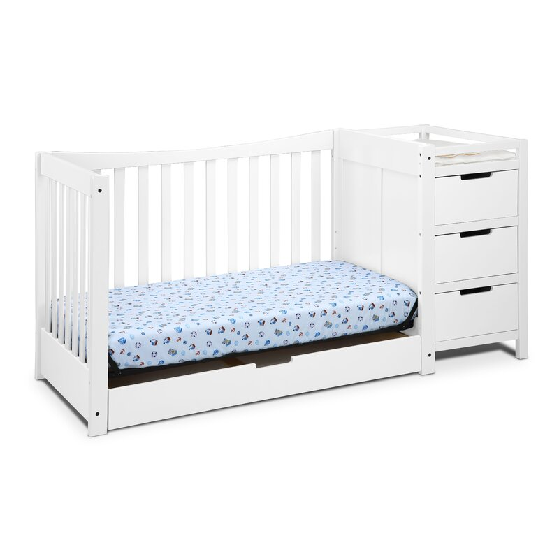 Baby Crib Mattress Critiques Remi 3-in-1 Convertible Crib and Changer Combo