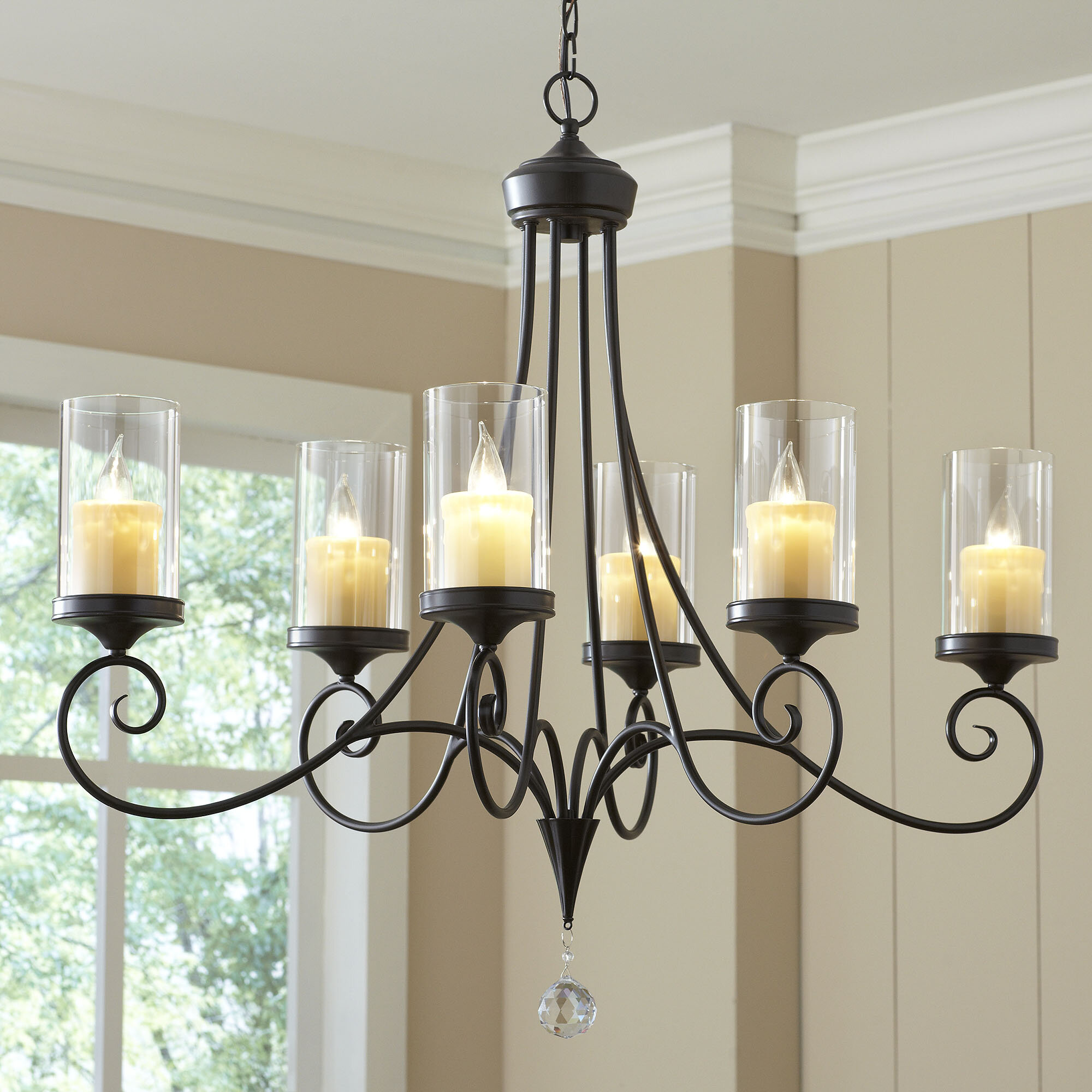 Osbourne 6 Light Candle Style Chandelier & Reviews