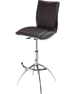 Guttenberg Adjustable Height Swivel Bar Stool (Set of 2)