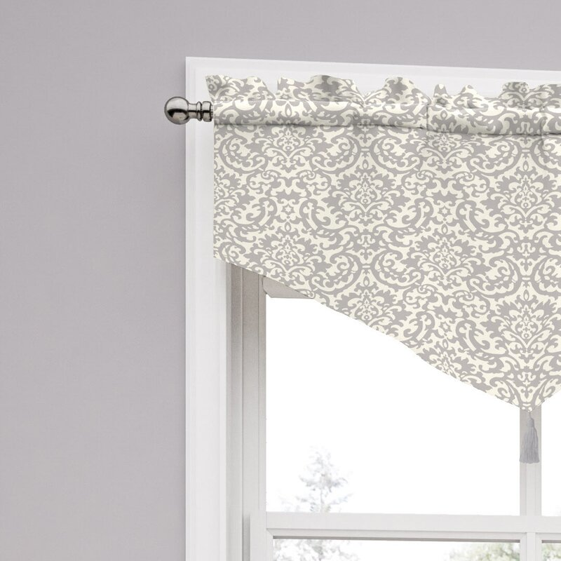 "Traditions By Waverly Duncan Damask 52"" Curtain Valance"
