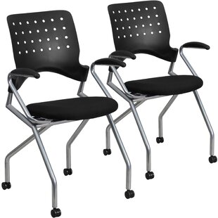 laverock mobile nesting guest chair set of 2 - Conference Room Chairs