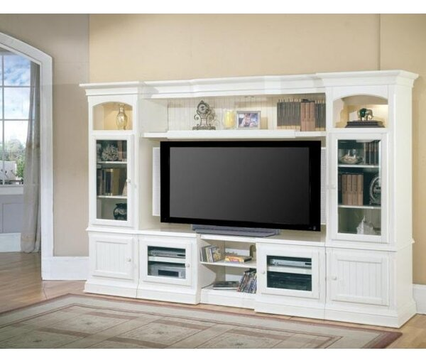 rosecliff heights gallo entertainment center for tvs up to 72 reviews wayfair - Entertainment Centers With Bookshelves