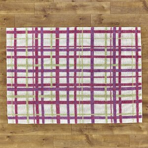 Mad for Plaid Pink Rug