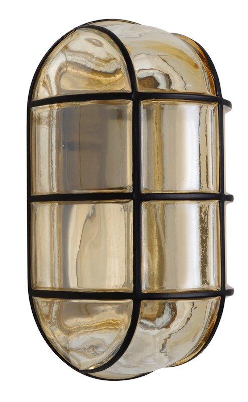 Donnie 1 light outdoor bulkhead light reviews allmodern donnie 1 light outdoor bulkhead light mozeypictures Choice Image