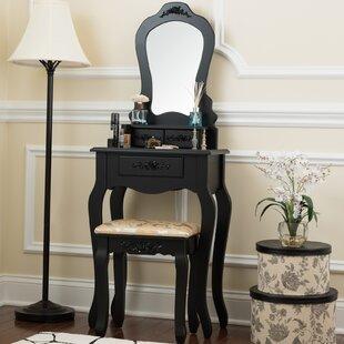 Bentleyville Elegant Vanity Set With Mirror