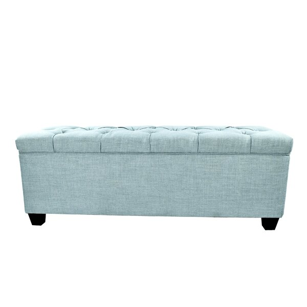 Winston Porter Aliana Fabric Storage Bench U0026 Reviews | Wayfair