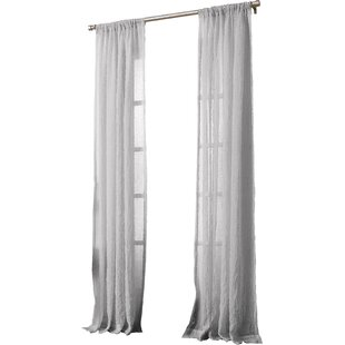 Modern Gray Silver Curtains Drapes