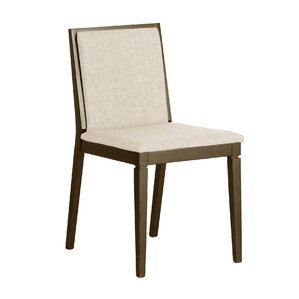 Brandy Upholstered Dining Chair (Set of 2) by Bungalow Rose