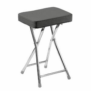brook lane padded folding stool