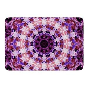 Mandala III by Iris Lehnhardt Bath Mat