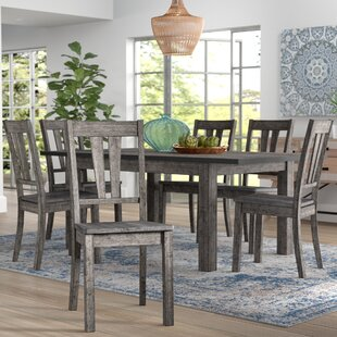 Katarina 7 Piece Extendable Solid Wood Dining Set