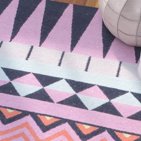 pink and black rug. Simonds Flat Woven Pink/Black/Blue Area Rug Pink And Black