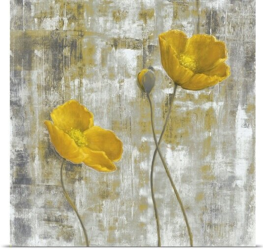 Great Big Canvas Yellow Flowers I By Carol Black