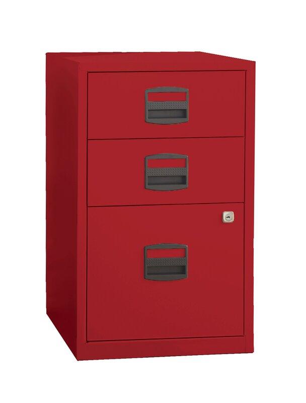 wrought studio castaneda 3 drawer steel home or office filing