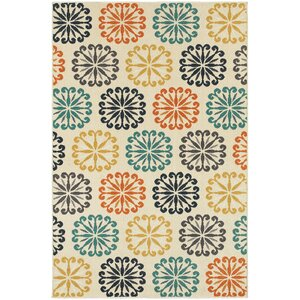 Brookline Ivory Indoor/Outdoor Area Rug