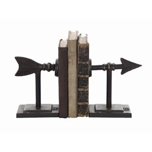 Straight Shot Bookends (Set of 2)
