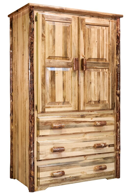 Tustin Wooden TV Armoire
