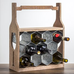 Shawnta 11 Floor Wine Rack
