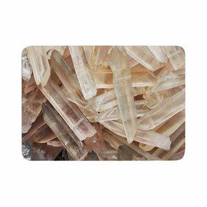 Crystal Cluster Memory Foam Bath Rug