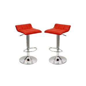 Cross Adjustable Height Swivel Bar Stool ..