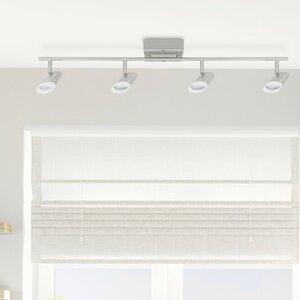 Delphine LED Integrated 4-Light Track Lighting Kit
