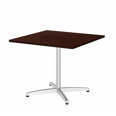 Bush Business Furniture Square Conference Table Top Finish: Harvest Cherry